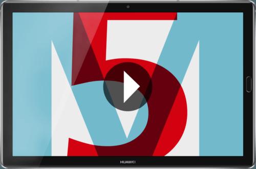 Huawei Mediapad M5 32 Gb Wifi 2743 Cm 108 Zoll Schwarz Android